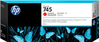HP Tintenpatrone Rot (Chromarot) F9K06A 745 300ml