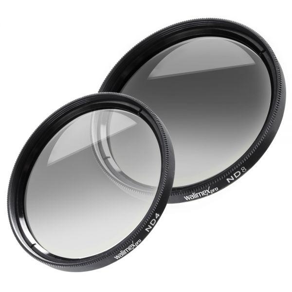 Walimex Graufilter-Set ND4 & ND8 58mm