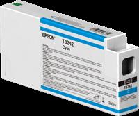 Epson Tintenpatrone Cyan C13T824200 T8242 350ml Ultrachrome HD, UltraChrome HDX