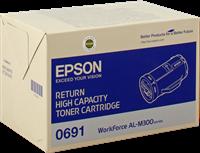 Epson Toner schwarz C13S050691 0691 ~10000 Seiten Rückgabe-Druckkassette