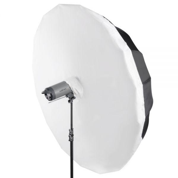 Miglior prezzo walimex ombrello riflettente Diffuser bianco, Ø180cm -