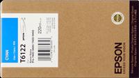 Epson Tintenpatrone cyan C13T612200 T6122 220ml