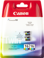 Canon Tintenpatrone color BCI-16cl 9818A002 2er Pack