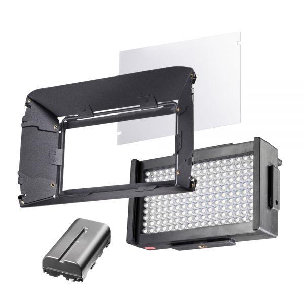 Walimex pro LED Foto Video Square 170 Bi Color Set