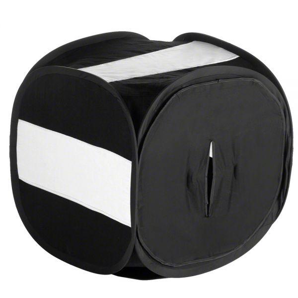 Miglior prezzo walimex Pop-Up cubo shooting 80x80x80cm nero -