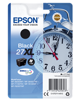 Epson Tintenpatrone schwarz C13T27114012 T2711 ~1100 Seiten 17.7ml C13T27114010