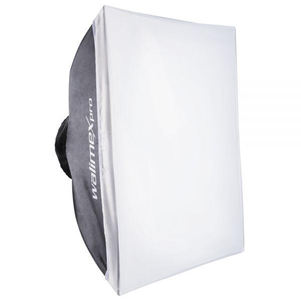 Walimex pro Softbox 60x60 faltbar Multiblitz V