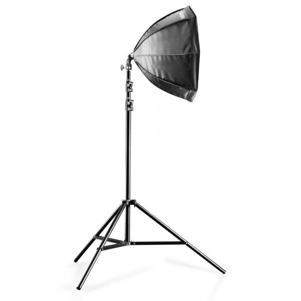 Walimex Daylight-Set 250+Octagon Softbox, ? 55cm