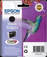 Epson Tintenpatrone schwarz C13T08014011 T0801 ~330 Seiten 7.4ml