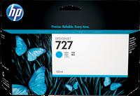 HP Tintenpatrone cyan B3P19A 727 130ml