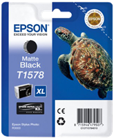 Epson Tintenpatrone schwarz (matt) C13T15784010 T1578 25.9ml