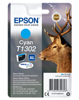 Epson Tintenpatrone cyan C13T13024012 T1302 ~755 Seiten 10.1ml C13T13024010