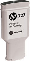 HP Tintenpatrone Schwarz (Matt) C1Q12A 727 300ml