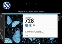HP Tintenpatrone Cyan F9J67A 728 130ml