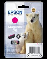 Epson Tintenpatrone Magenta C13T26134012 T2613 ~300 Seiten 4.5ml