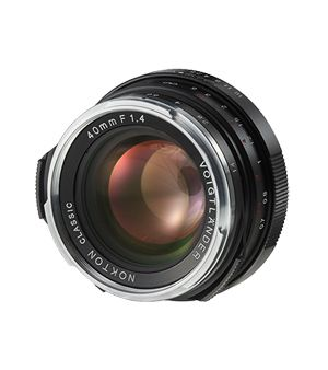 Voigtländer Nokton 1,4/40 mm M.C. VM schwarz, Objektiv