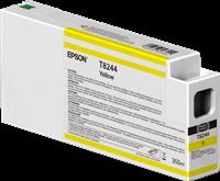 Epson Tintenpatrone Gelb C13T824400 T8244 350ml Ultrachrome HD, UltraChrome HDX