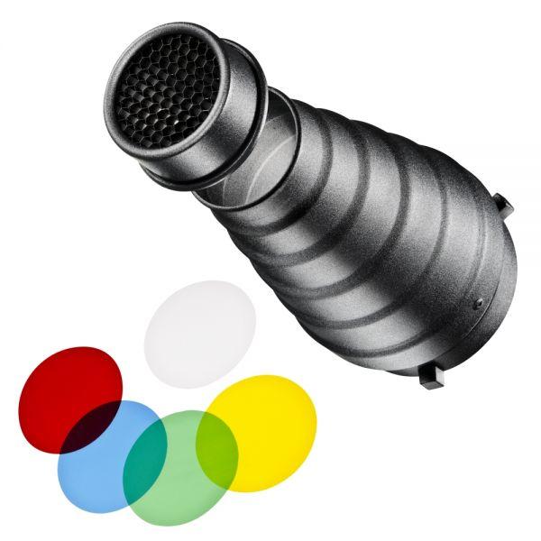 Walimex pro Spotvorsatz-Set für Walimex pro & K