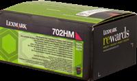Lexmark Toner magenta 70C2HM0 702HM ~3000 Seiten Rückgabe-Druckkassette