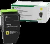 Lexmark Toner Gelb 78C2XY0 ~5000 Seiten Rückgabe-Druckkassette, extra hohe Kapazität