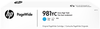 HP Tintenpatrone Cyan L0R17YC 981YC ~16000 Seiten Contract Tinte