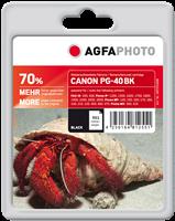Agfa Photo Tintenpatrone schwarz APCPG40B Agfa Photo ~561 Seiten 26ml Agfa Photo PG-40bk (0615B001)
