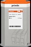 Prindo Tintenpatrone Schwarz PRIET2711 T2711 ~1100 Seiten 17.7ml Prindo CLASSIC: DIE Alternative, To
