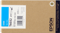 Epson Tintenpatrone cyan C13T603200 T6032 220ml