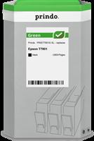 Prindo Tintenpatrone Schwarz PRIET7901G Green ~2600 Seiten Prindo GREEN: Recycelt & aufwendig aufber