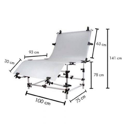 Miglior prezzo FALCON EYES PHOTO TABLE ST-1020A 100X200