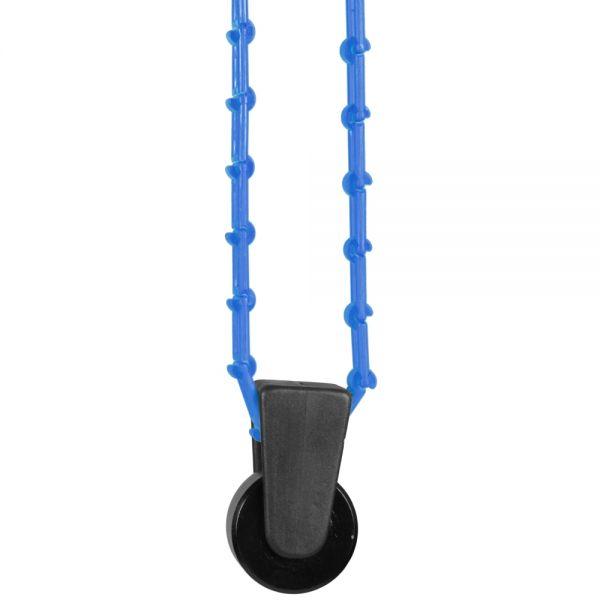 Walimex Hintergrundexpan + Kette & Gewicht, blau