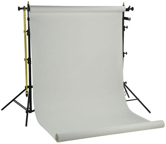 Miglior prezzo Falcon Eyes Background System SPK-1W with 1 Roll White 1.35x11 m -