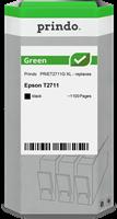 Prindo Tintenpatrone Schwarz PRIET2711G Green ~1100 Seiten Prindo GREEN: Recycelt & aufwendig aufber