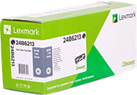 Lexmark Toner Schwarz 24B6213 ~10000 Seiten Rückgabe-Druckkassette