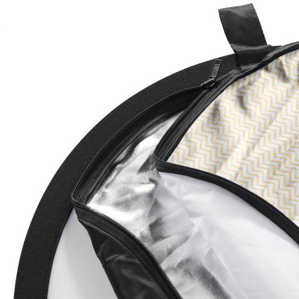 Walimex pro 5in1 Faltreflektor Set wavy, 150x200cm