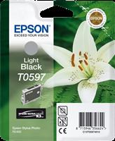 Epson Tintenpatrone schwarz (hell) C13T05974010 T0597 13ml