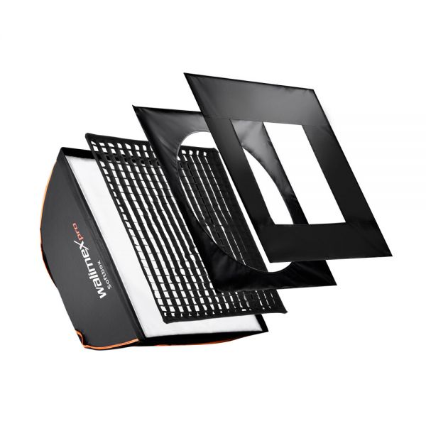 Walimex pro Softbox PLUS OL 40x40cm Elinchrom