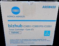 Konica Minolta Toner Cyan A95W450 TNP49C ~12000 Seiten