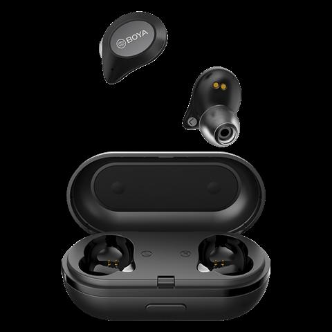 Boya Bluetooth Drahtlos Stereo-Kopfhörer BY-AP1 Schwarz