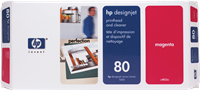 HP Druckkopf magenta C4822A 80 inkl. Reiniger