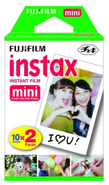 Fuji Instax Mini DP Sofortbildfilm 2x 10 Aufnahmen