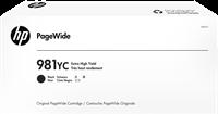 HP Tintenpatrone Schwarz L0R20YC 981YC ~21000 Seiten Contract Tinte