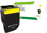 Lexmark Toner Gelb 70C2XYE ~4000 Seiten Corporate Toner