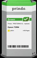 Prindo Tintenpatrone Gelb PRIET2994G Green ~450 Seiten Prindo GREEN: Recycelt & aufwendig aufbereite