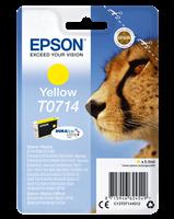 Epson Tintenpatrone gelb C13T07144012 T0714 ~415 Seiten 5.5ml C13T07144011