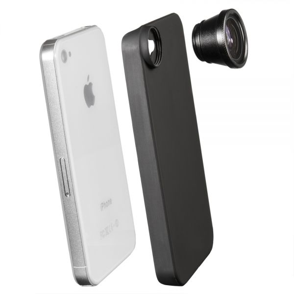 Miglior prezzo walimex Fish-Eye Lens for iPhone 4/4S -