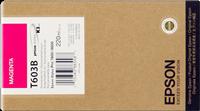 Epson Tintenpatrone magenta C13T603B00 T603B 220ml