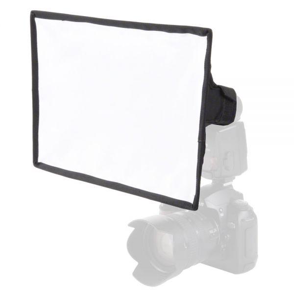 Walimex Universal Softbox 30x20cm f. Kompaktblitze