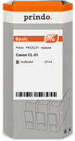 Prindo Tintenpatrone mehrere Farben PRICCL51 CL-51 21ml Prindo BASIC: DIE preiswerte Alternative, To