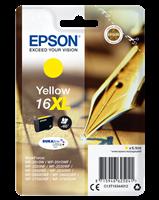 Epson Tintenpatrone gelb C13T16344012 T1634 ~450 Seiten 6.5ml C13T16344010